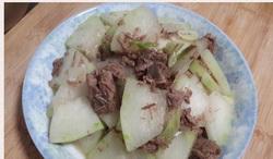 冬瓜炒牛肉