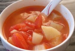 番茄肉丝汤