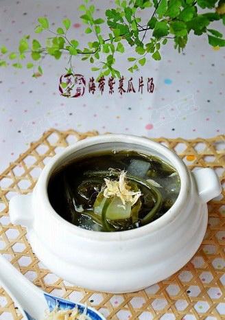 海带紫菜汤