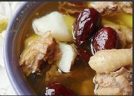 红枣公鸡汤