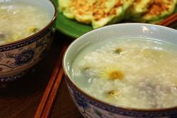 红枣菊花粥