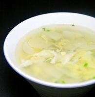 鸡蛋土豆片汤