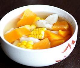 木瓜玉米甜汤
