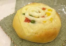 奶酪玉米面包