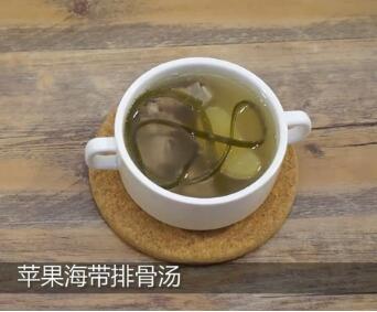 苹果排骨汤