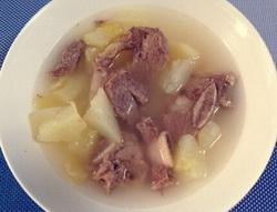 青木瓜肋排汤