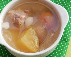 青苹果芦荟汤