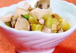 笋尖焖豆腐