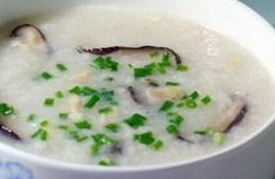 虾干紫菜粥