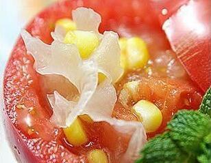 西红柿凉汤