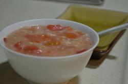 西红柿燕麦汤