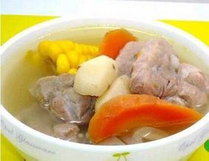 玉米荸荠汤