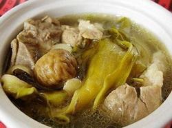 猪舌西洋菜汤