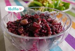 紫米红枣粥